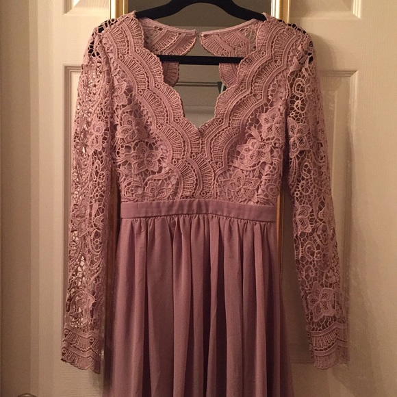 1bf6c5164773 Lulu's Dresses | Awaken My Love Long Sleeve Lace Maxi Dress | Poshmark